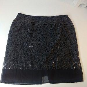 Calvin Klein sequin skirt size 16w
